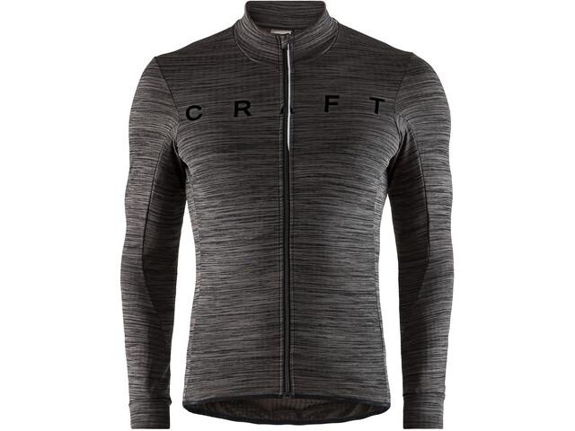 Craft Reel Koszulka kolarska, długi rękaw Mężczyźni, black